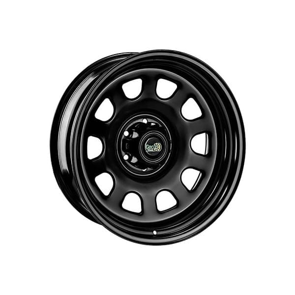 Gecko D-Hole 20×9 Black