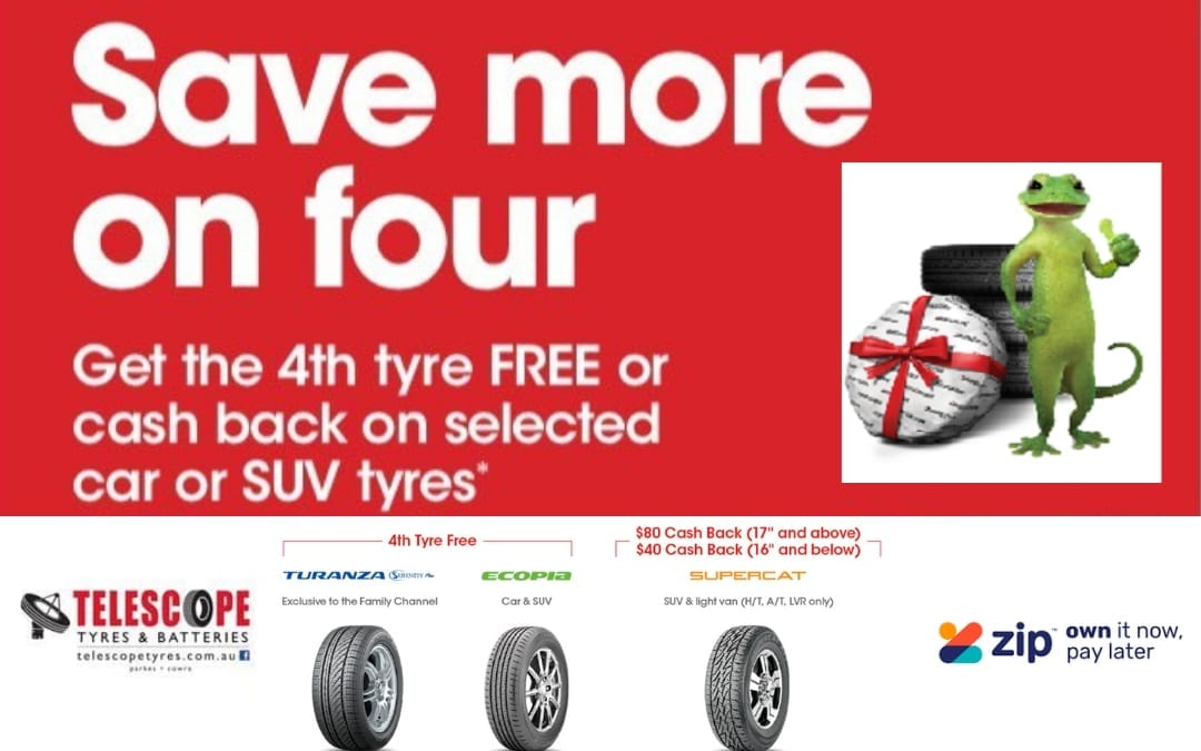 Bridgestone Save more on Four